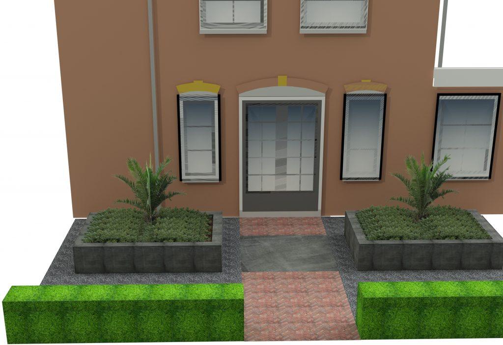 3D tuinontwerp Rhoon WenS Huis en Tuin