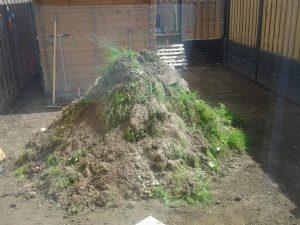 Tuin Rhoon bestrating en tuin hek hekwerk