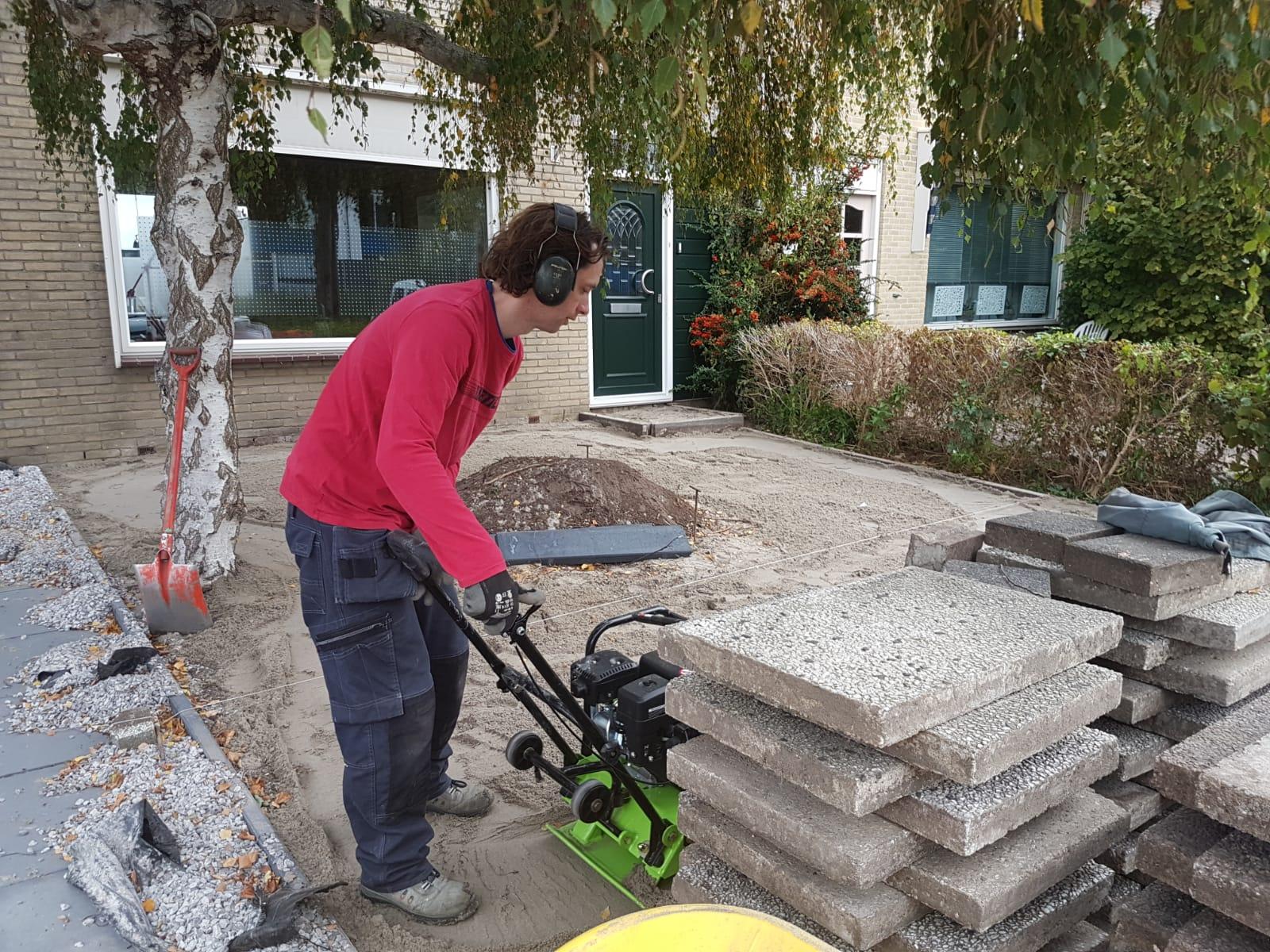 Oude bestrating gebruiken wens huis en tuin